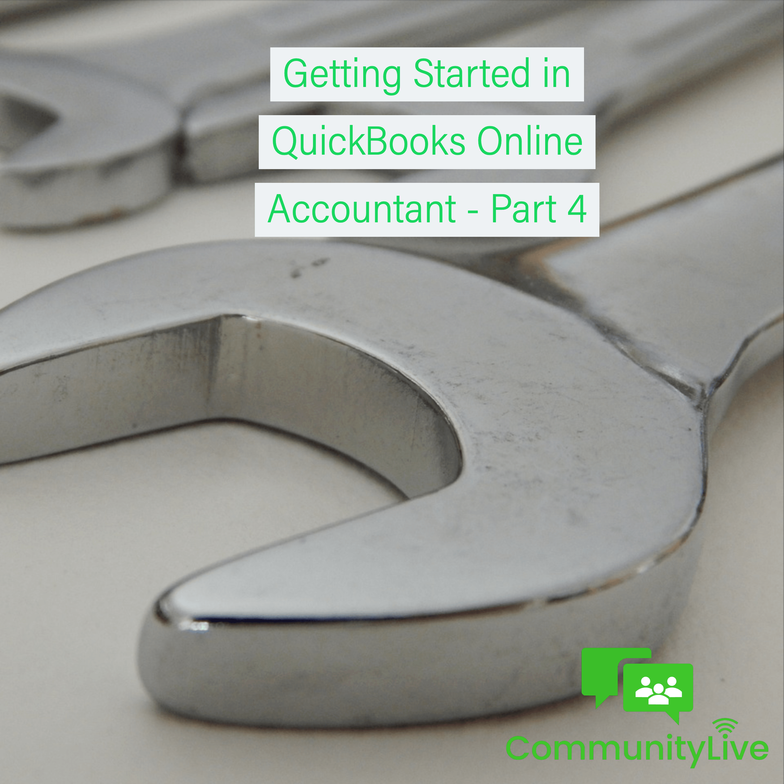 Getting started in Quickbooks online accountant - part 4