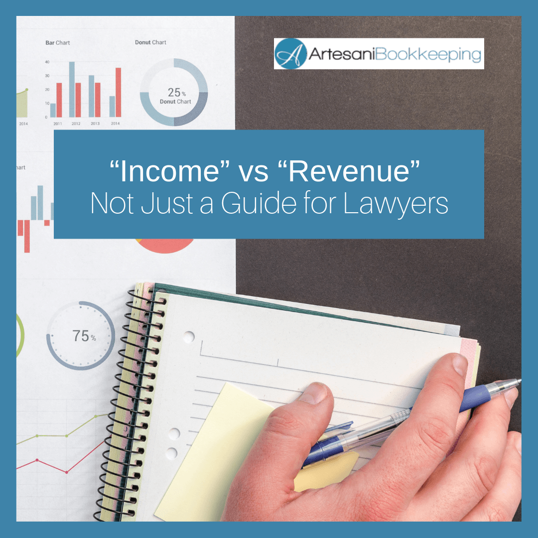 Income vs Revenue